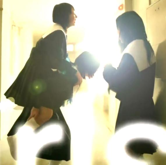 名古屋襟セーラー服襟カバー中学生日記 女子中学生芦田実咲