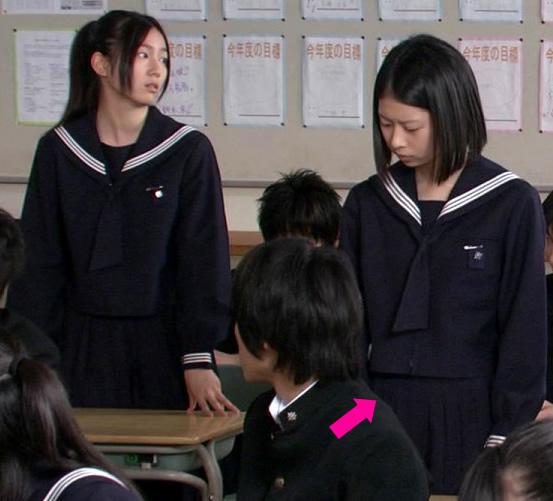 夏未エレナ 藤本七海 セーラー服 チャレンジド