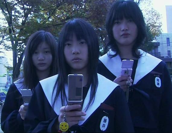 中学生日記 池山 藤井 間瀬 名古屋襟セーラー服 女子中学生 3年生