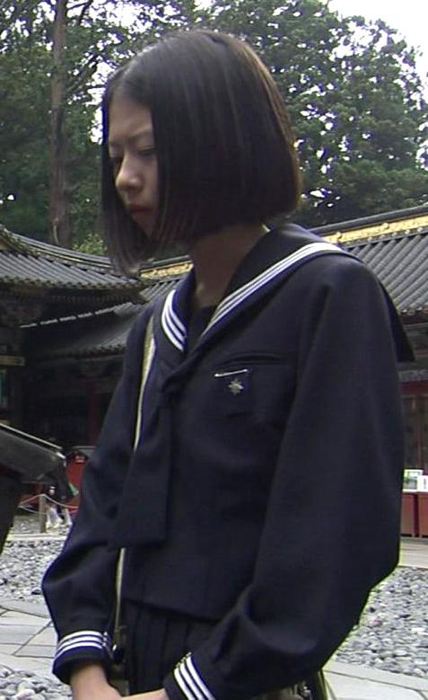 藤本七海 セーラー服 チャレンジド