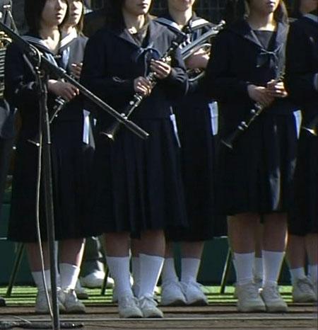吹奏楽甲子園センバツ 2009 : 選抜高校セーラー服大会女子高生