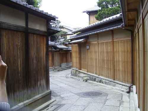 祇園の小道