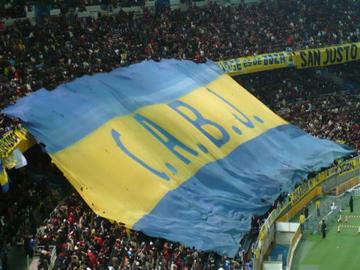 FIFAクラブW杯2007:決勝 ボカ側スタンド