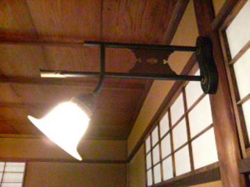 廣誠院書院の照明