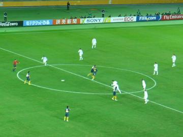 FIFAクラブW杯2007:決勝キックオフ