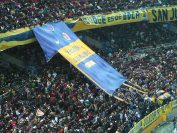 FIFAクラブW杯2007:決勝 ボカ側スタンド2