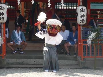 勝浦八幡神社・例大祭1