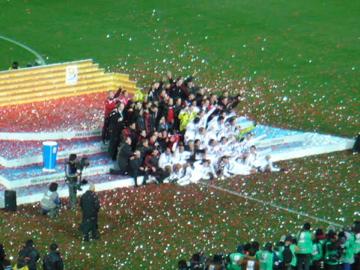 FIFAクラブW杯2007:決勝 ミランのセレモニー