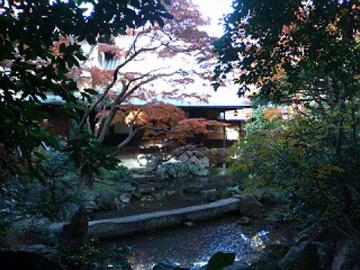 廣誠院の庭と建物