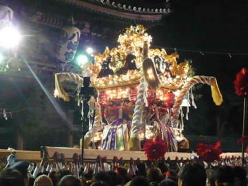 提灯祭り宵宮:屋台練りチョーサ!