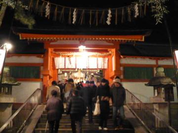 吉田神社の節分祭:大元宮2