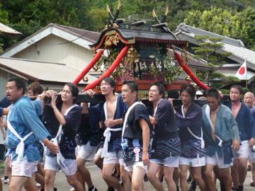 勝浦八幡神社・例大祭2
