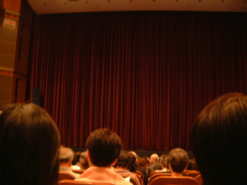マッシモ劇場開演前@びわ湖ホール