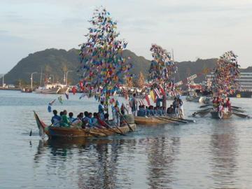 勝浦八幡神社・例大祭:舟渡御