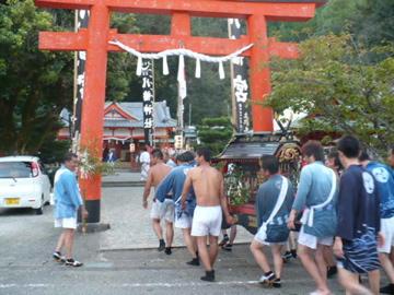 勝浦八幡神社・例大祭3
