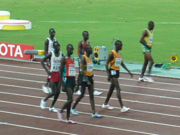 世界陸上・男子10,000m出場選手たち