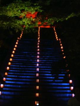 延暦寺・文珠楼ライトアップ