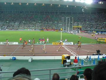 世界陸上・女子400m準決勝