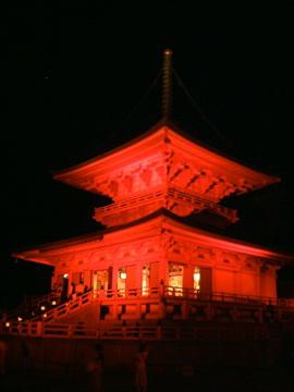 延暦寺・東塔ライトアップ