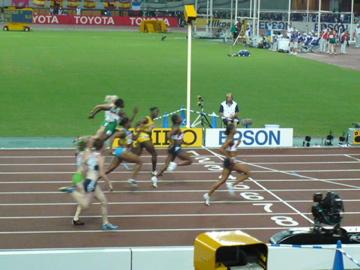 世界陸上・女子100m準決勝