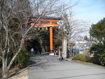 廣瀬神社の入口