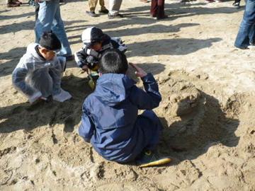 砂かけ祭り1