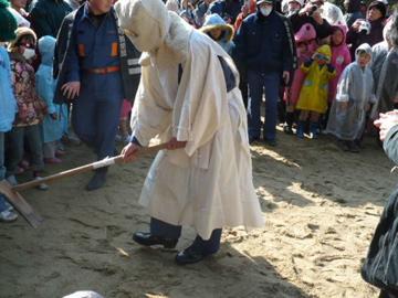 砂かけ祭り2