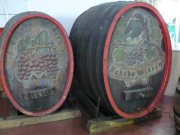 タケダワイナリーの樽