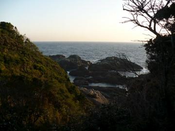 潮岬からの眺め