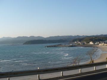 串本の海岸