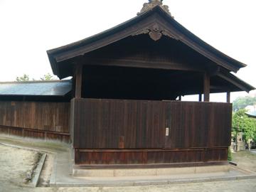沼名前神社の能舞台@鞆の浦