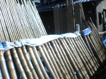 黒田正玄邸の竹