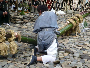 芋競べ祭り:長さの申告