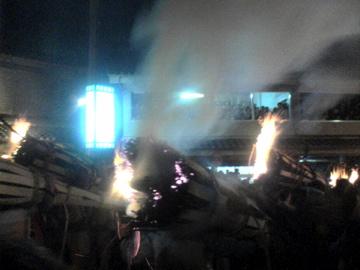 鞍馬の火祭1