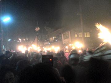 鞍馬の火祭2