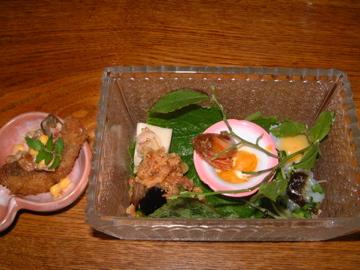 前菜の盛り合わせ@枝魯枝魯2007年7月