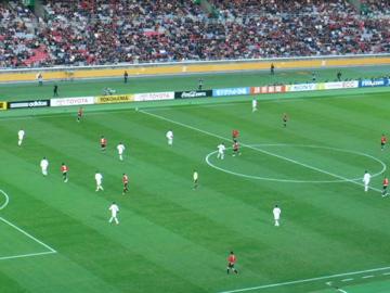 クラブW杯2007:3位決定戦キックオフ