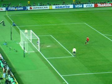 FIFAクラブW杯2007:3位決定戦PK