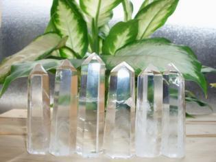 水晶ポイント(ファントム入り)