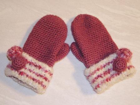 あったか可愛い♡かぎ針編みで編むミトンでこの冬は誰よりおしゃれに♡