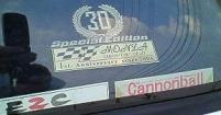 ランボルギーニ・ディアブロ・イオタ・スペティアーレに貼ってあるスッテカー類