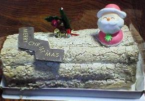 豊橋サンタさんからのケーキ全体20061223