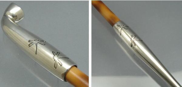 浅草煙管(雁首・吸い口)