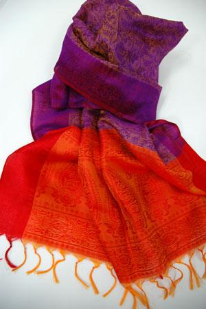 oragevioletscarf