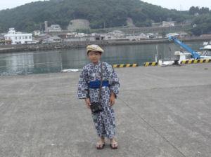 美々津の港