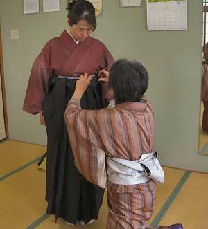 袴のお稽古