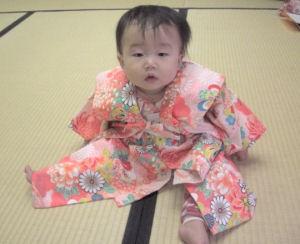 赤ちゃん着物