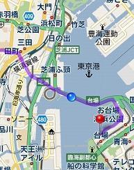 100220_お台場_レインボー_地図上 ...