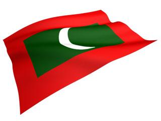 国旗 モルディブ
