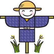 イラスト かかし 秋のイラスト1/無料のフリー素材集【花鳥風月】